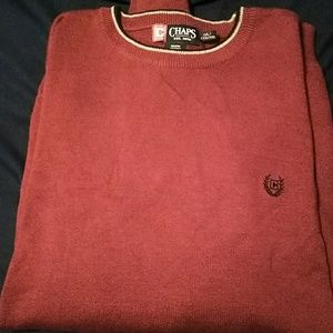 Big man's chaps sweater
